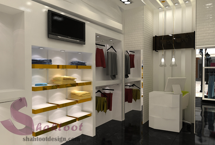 دکوراسیون مغازه -پوشاک زنانه 1