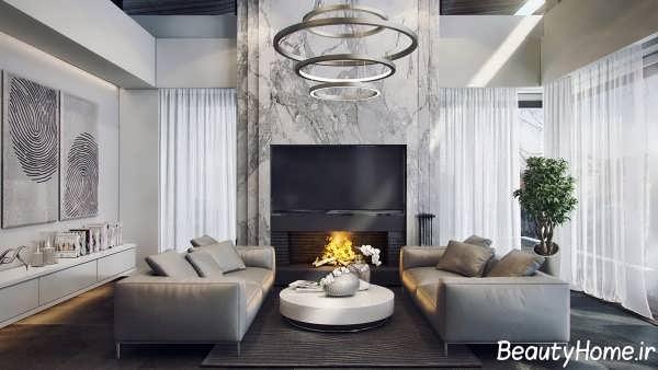 Color gray 10 - رنگ خاکستری در دکوراسیون خانه